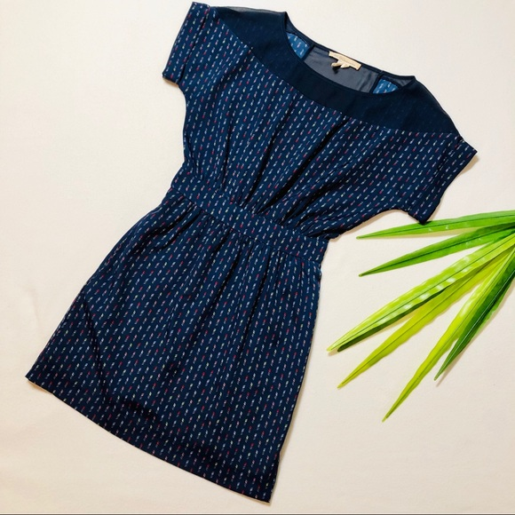 BCBGeneration Dresses & Skirts - BCBG Generation Midnight Blue Multi Dress XS